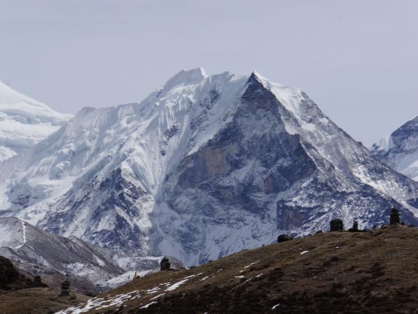 Island Peak 6160m.