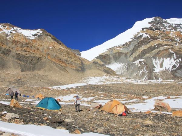 Chulu East Peak 6584m.