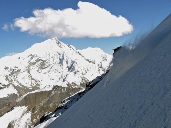 Chulu West Peak 6419m.