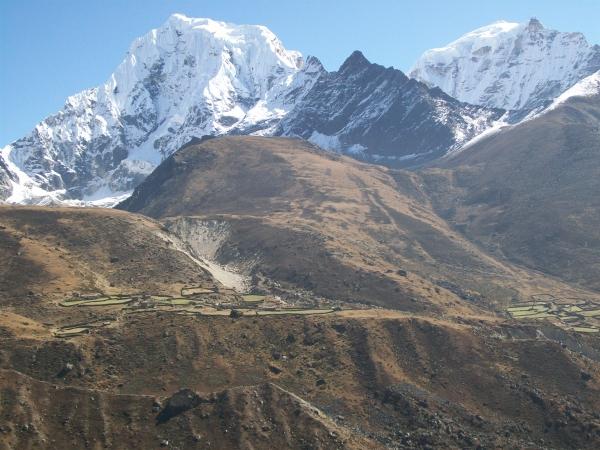 Machhermo Peak 6237m.