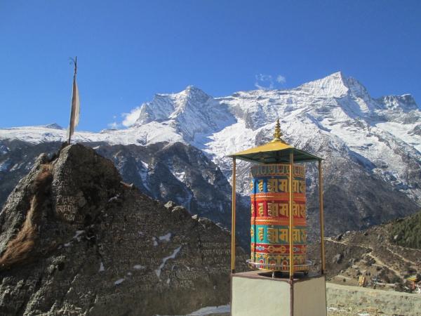 Kwangde Peak 6011m.