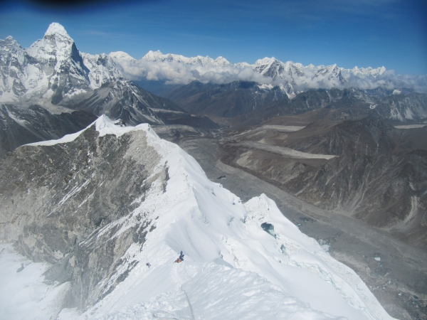 Ramdung Peak 5925m.